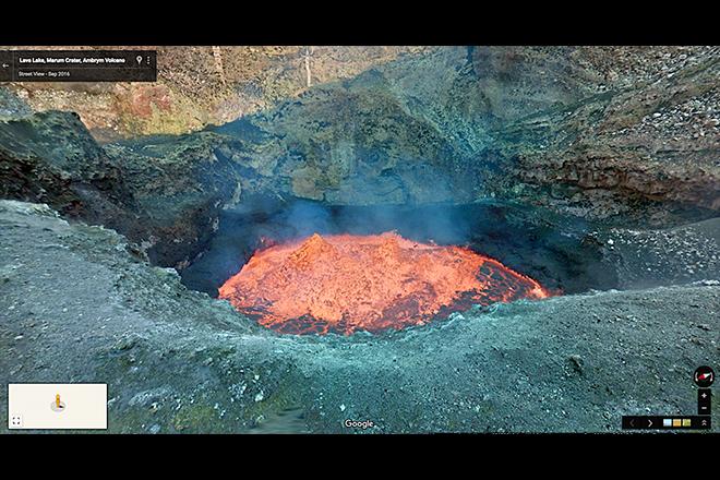 Το Street View της Google μπήκε κάτω από τη γη