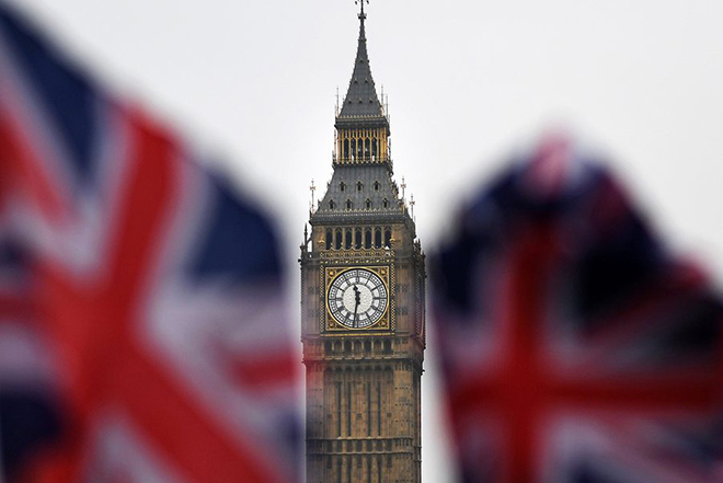 epa05752020 The Union Jack flies near parliament and Big Ben in London, Britain, 26 January 2017. The British Government has published its bill seeking parliament's approval to formally trigger Article 50 and begin the process of the UK leaving the European Union (EU).  EPA/ANDY RAIN