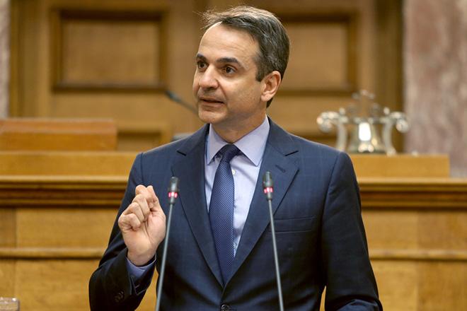 Ο πρόεδρος της Νέας Δημοκρατίας Κυριάκος Μητσοτάκης μιλά στην συνεδρίαση της Κοινοβουλευτικής Ομάδας του κόμματος του , Πέμπτη 16 Μαρτίου 2017. Υπό την προεδρία του πρόεδρου της Νέας Δημοκρατίας Κυριάκου Μητσοτάκη συνεδρίασε η Κοινοβουλευτική Ομάδα της ΝΔ. ΑΠΕ-ΜΠΕ/ΑΠΕ-ΜΠΕ/Παντελής Σαίτας