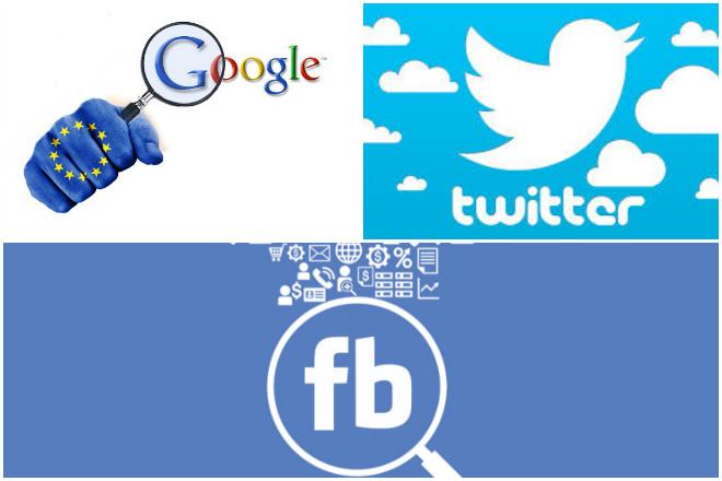 Τι ζητά η Ευρώπη από Facebook, Google και Twitter