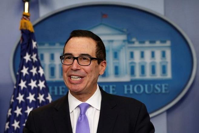 Μνούτσιν: Οι ΗΠΑ στηρίζουν τις θέσεις του ΔΝΤ για την Ελλάδα