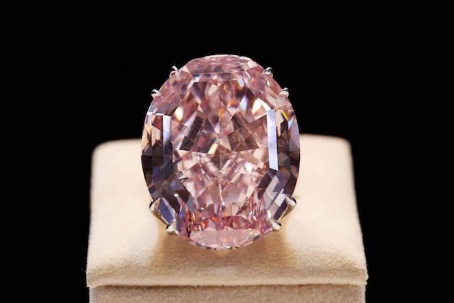 Ιστορικό ρεκόρ για το ροζ διαμάντι «Pink Star»