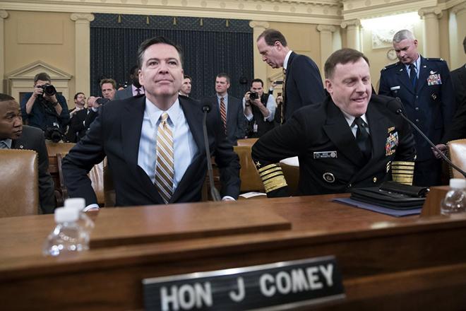 Καταθέτει ο Τζ. Κόμεϊ, πρώην διευθυντής του FBI- Στο επίκεντρο οι σχέσεις του με Ρωσία
