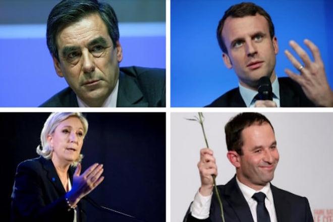 Σήμερα το πρώτο ντιμπέιτ των Γάλλων υποψηφίων για την προεδρία
