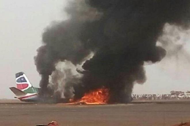 Συντριβή αεροσκάφους στο Νότιο Σουδάν χωρίς θύματα