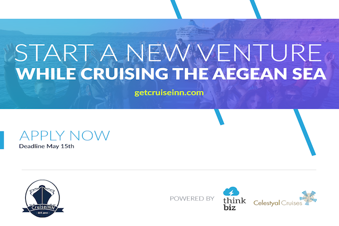 CruiseInn-Celestyal Cruises: Αρκούν επτά ημέρες στο Αιγαίο για να ξεκινήσεις μία startup;