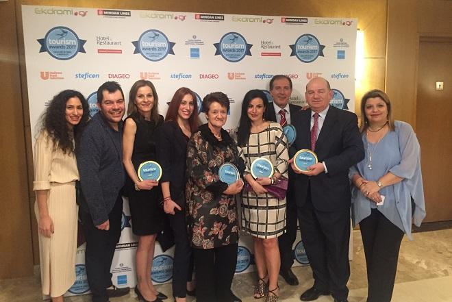 Πέντε «λαμπερά» βραβεία στα Tourism Awards 2017 για τη Celestyal Cruises