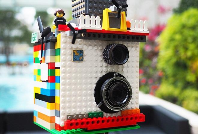 Mία LEGO κάμερα φτιαγμένη από…τουβλάκια!