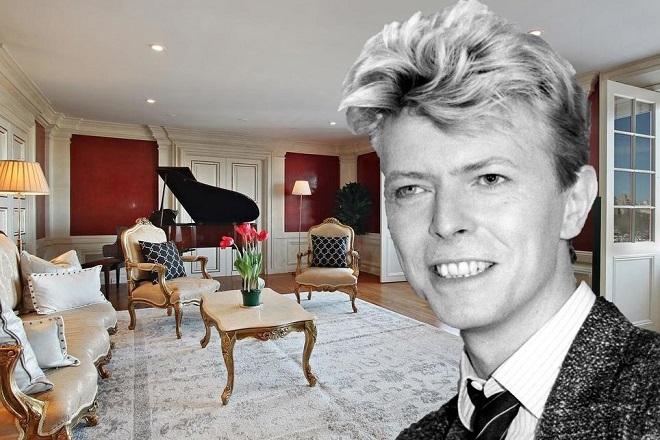 Προς πώληση το διαμέρισμα του Ντέιβιντ Μπάουι – Δείτε το εσωτερικό του