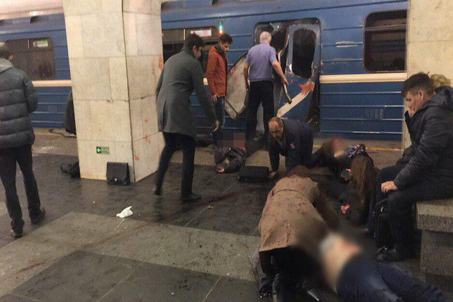 Έκρηξη στο μετρό της Αγίας Πετρούπολης- Πληροφορίες για τουλάχιστον δέκα νεκρούς