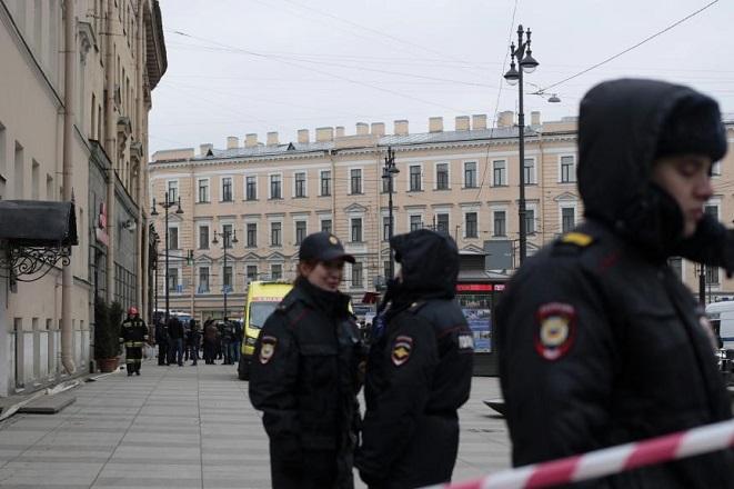 Επίθεση στο μετρό της Αγίας Πετρούπολης με άρωμα τρομοκρατίας