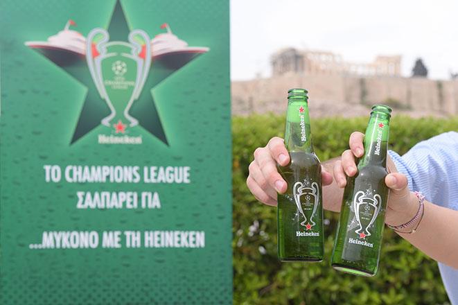 Η Heineken «έφερε» τη Μύκονο στον τελικό του Champions League!