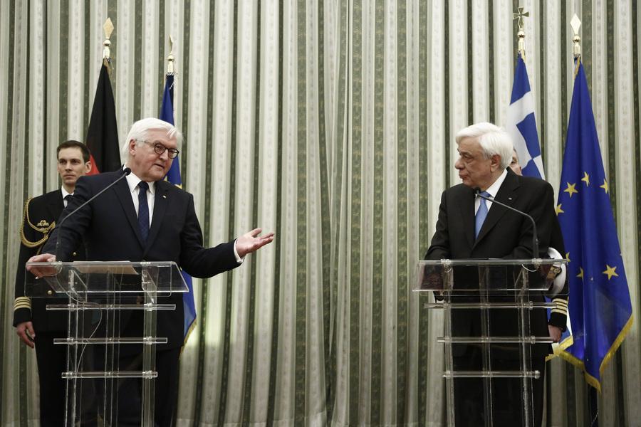 Παυλόπουλος σε Σταϊνμάιερ: Η Ελλάδα θα ξεπεράσει την κρίση