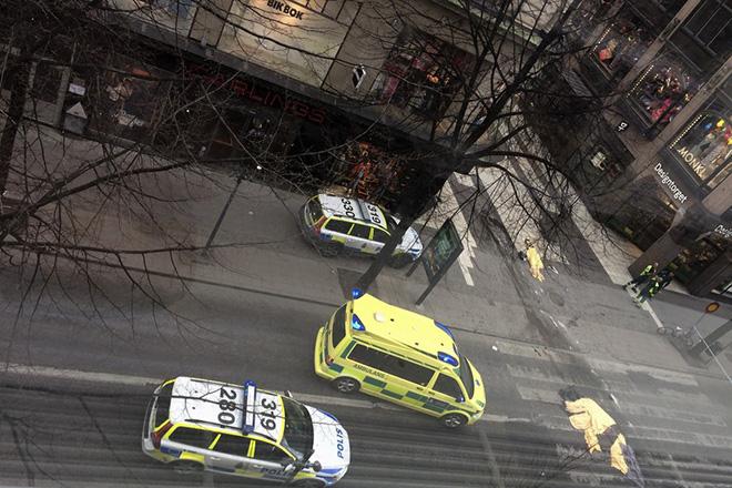 Στους 4 οι νεκροί από την επίθεση στη Στοκχόλμη