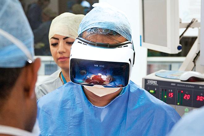 Η εικονική πραγματικότητα αλλάζει την ιατρική