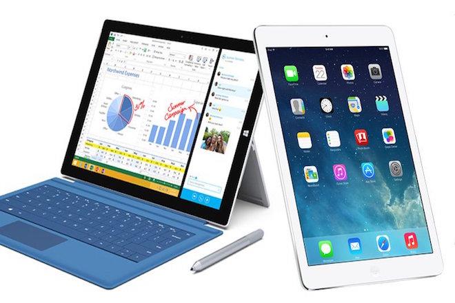 Στη «μάχη» των tablets νικητής η Microsoft