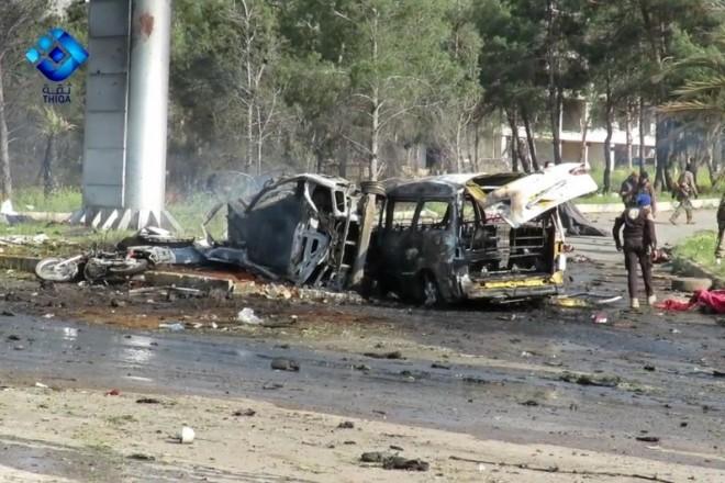 Ασύλληπτη τραγωδία στη Συρία μετά την επίθεση εναντίον προσφύγων