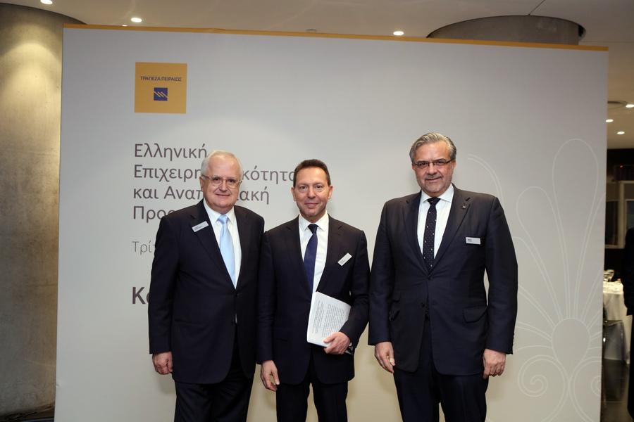 Μεγάλου: Η Τράπεζα Πειραιώς θα πετύχει και θα σηματοδοτήσει την ανάκαμψη