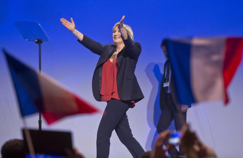 Γαλλία: Στην πρώτη θέση η Μαρίν Λεπέν, σύμφωνα με τα exit polls