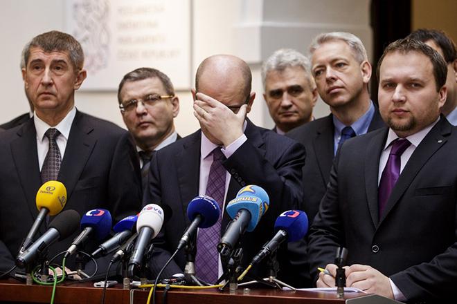 Φορολογικό σκάνδαλο ρίχνει την κυβέρνηση της Τσεχίας