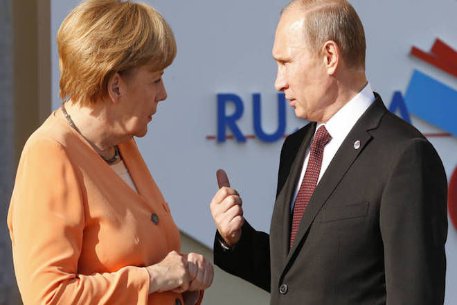 Κοινό ενεργειακό μέτωπο Πούτιν-Μέρκελ απέναντι στον Τραμπ
