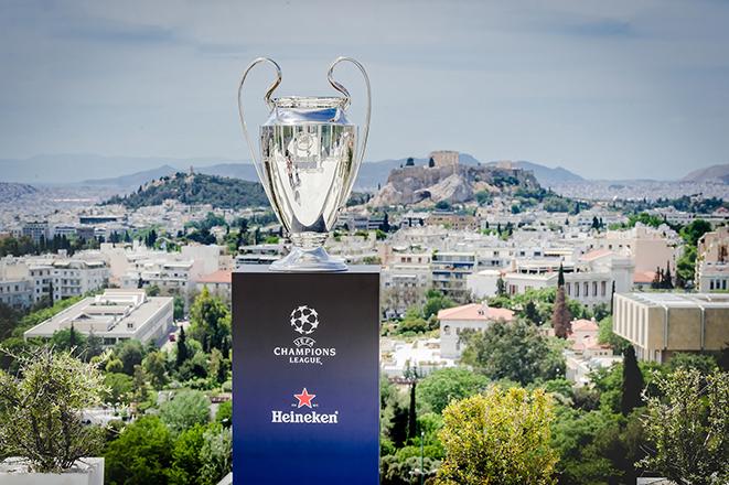 Στην Ελλάδα αποκλειστικά από τη Heineken το τρόπαιο του UEFA Champions League