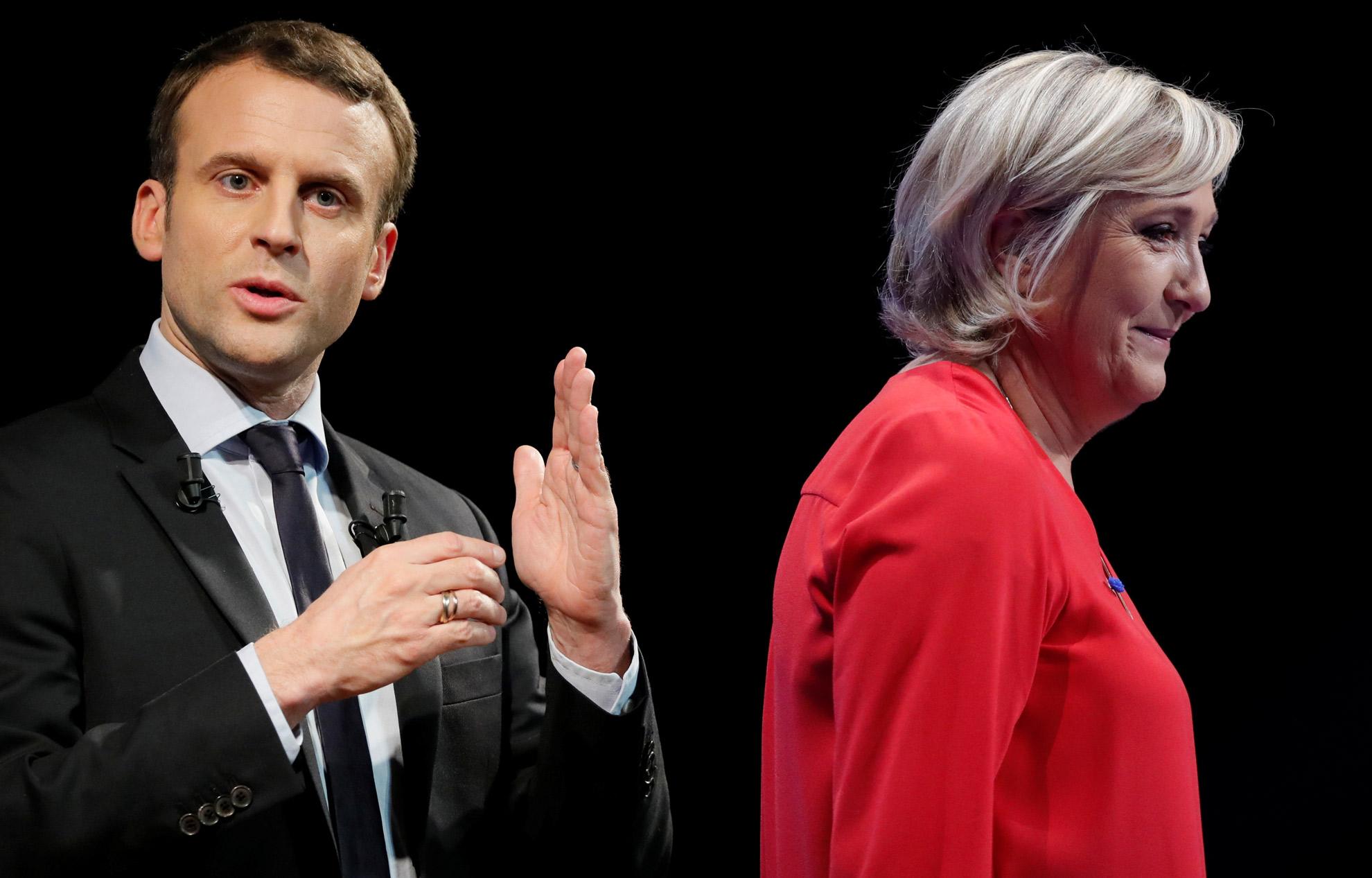 Γαλλικές Εκλογές: Τι έχουν υποσχεθεί Μακρόν και Λεπέν