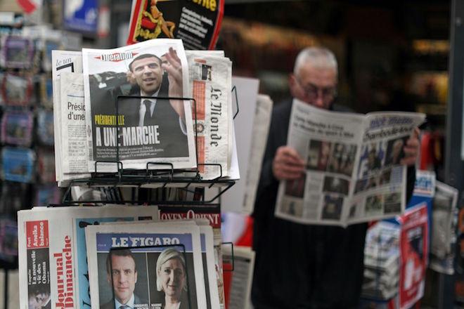 Γαλλικός Τύπος: H νίκη «υπό πίεση» του Μακρόν και η ψήφος κατά της ακροδεξιάς