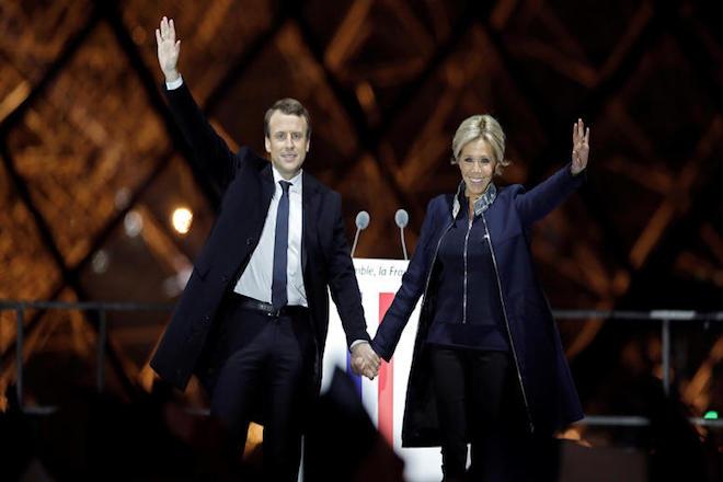 Όλα όσα γνωρίζουμε για την νέα Πρώτη Κυρία της Γαλλίας και τον Μακρόν