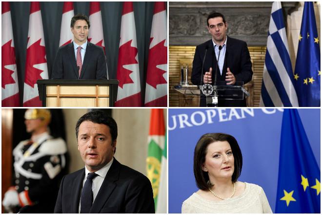 9+2 πολιτικοί που έγιναν ηγέτες κρατών κοντά στα 40