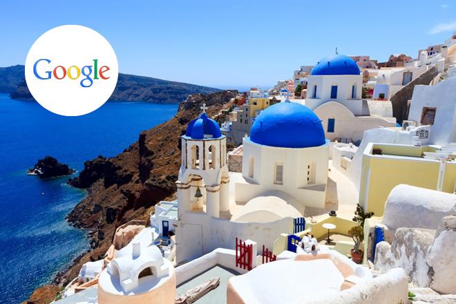 Η Google «μετακομίζει» στη Σαντορίνη