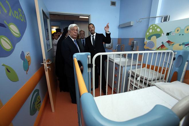 Παραδόθηκαν από τον ΟΠΑΠ οι δύο πλήρως ανακαινισμένοι όροφοι παιδιατρικών νοσοκομείων