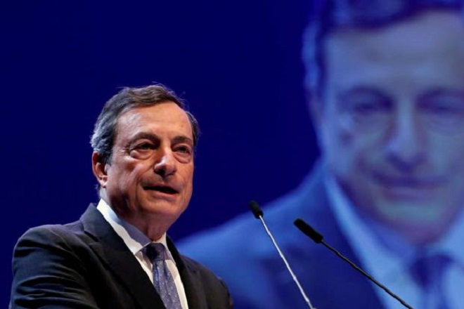 Ντράγκι: Θα συνεχισθεί η ανάπτυξη της οικονομίας της Ευρωζώνης -Παραμένει η αβεβαιότητα