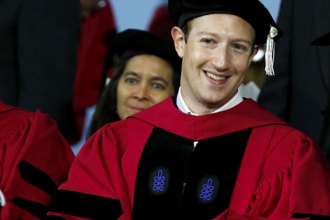 Τα «κρυμμένα» μηνύματα στην ομιλία του Ζούκερμπεργκ στο Χάρβαρντ