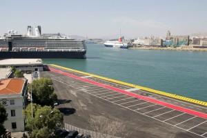 Ο νέος προβλήτας κρουαζιέρας, την Παρασκευή 30 Σεπτεμβρίου 2016.  Εγκαινιάζεται τη Δευτέρα ο νέος προβλήτας κρουαζιέρας στον Αγ. Νικόλαο στο λιμάνι του Πειραιά, από την νέα διοίκηση του ΟΛΠ. ΑΠΕ- ΜΠΕ/ΑΠΕ- ΜΠΕ/Γεώργιος Χριστάκης