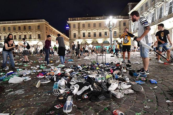 Χάος στο Τορίνο: Πάνω από 600 τραυματίες την ώρα που παρακολουθούσαν τον τελικό του Champions League