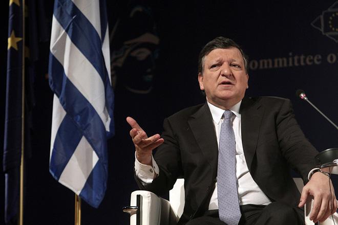 Μπαρόζο: Aπόφαση της Γερμανίας και των «συμμάχων» χωρών η είσοδος του ΔΝΤ στην Ελλάδα