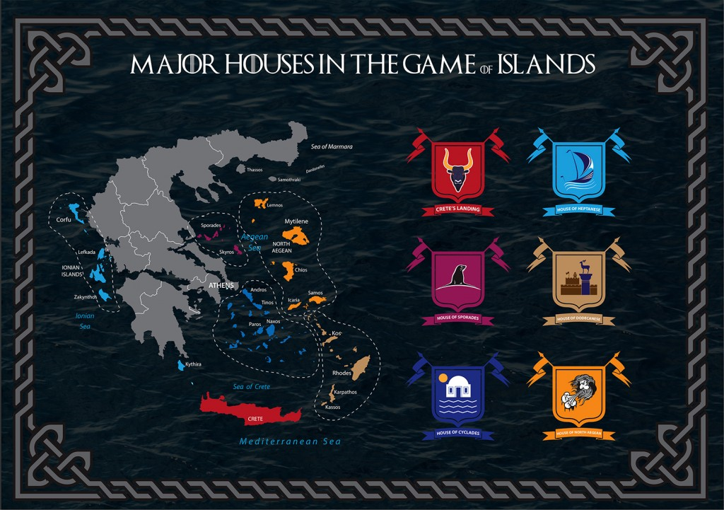 Game of Islands - Map of houses