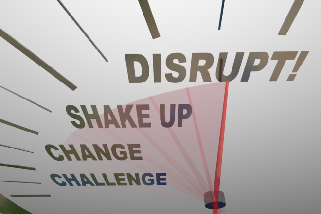 Γιατί «disrupt», γιατί τώρα