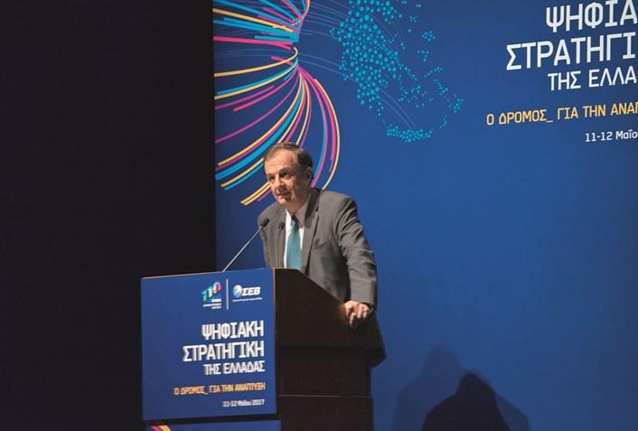 O αντιπρόεδρος του ΣΕΒ, Κωνσταντίνος Μπίτσιος.