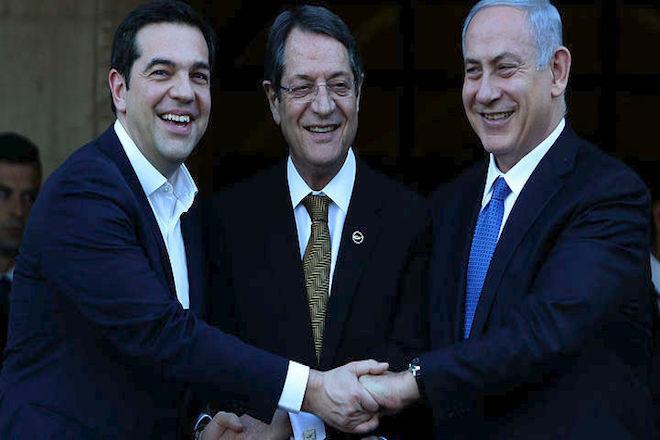 Οι ΗΠΑ μπαίνουν για πρώτη φορά στην τριμερή Ισραήλ, Ελλάδας Κύπρου