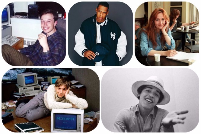 Τι έκαναν οι πιο επιτυχημένοι άνθρωποι του κόσμου όταν ήταν 20 ετών