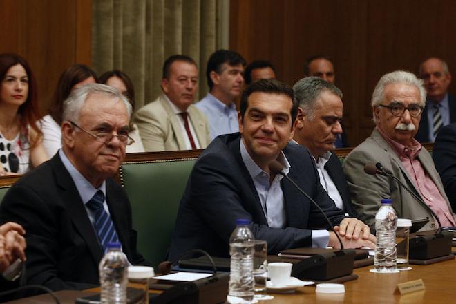 Συνεδρίαση του υπουργικού συμβουλίου υπό την προεδρία του πρωθυπουργού Αλέξη Τσίπρα στη Βουλή, Τετάρτη 21 Ιουνίου 2017. ΑΠΕ-ΜΠΕ/ΑΠΕ-ΜΠΕ/ΑΛΕΞΑΝΔΡΟΣ ΒΛΑΧΟΣ