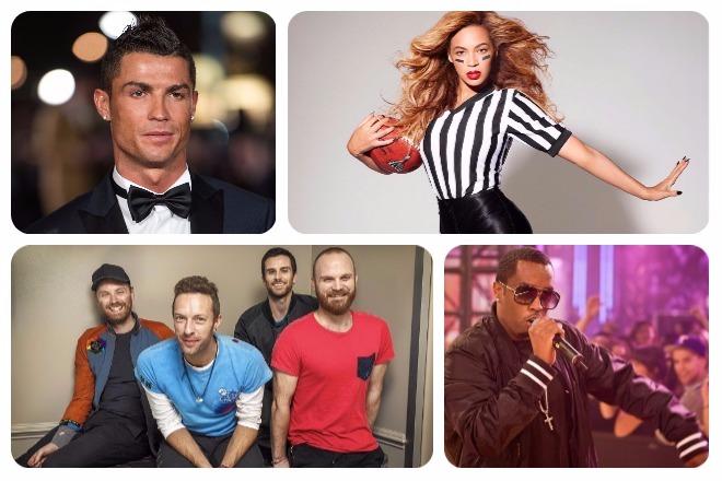 Οι πιο ακριβοπληρωμένοι διάσημοι της χρονιάς