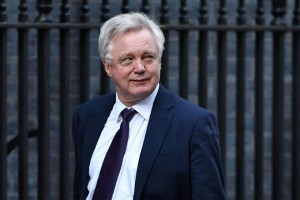 British Secretary of State for Exiting the European Union (Brexit Minister) David Davis arrives in Downing Street in London on March 15, 2017. Britain's Prime Minister Theresa May said Tuesday she would be given the power to start Brexit talks within days but declined to name a date for a process already disrupted by Scotland's independence bid. / AFP PHOTO / Ben STANSALL        (Photo credit should read BEN STANSALL/AFP/Getty Images)