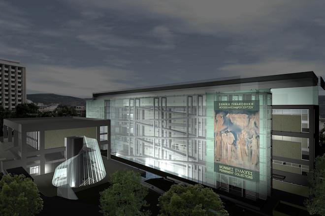 Έτσι μεταμορφώνεται η Εθνική Πινακοθήκη από τη δωρέα ύψους 13 εκατ. ευρώ του ΙΣΝ