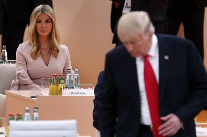 Ο Τραμπ απαντά γιατί ενέπλεξε την κόρη του στη σύνοδο των G20