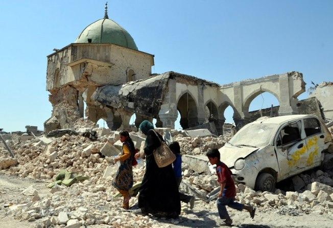 Τι κατέγραψε ένα drone στα ερείπια της Μοσούλης