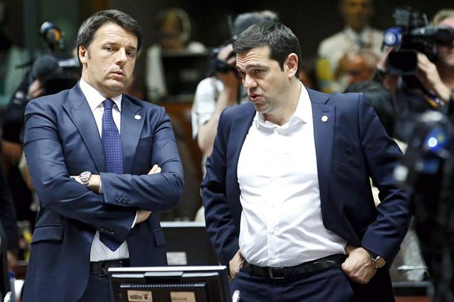 Ρέντσι: Αυτά έγιναν τη νύχτα της πιο σκληρής διαπραγμάτευσης για την Ελλάδα