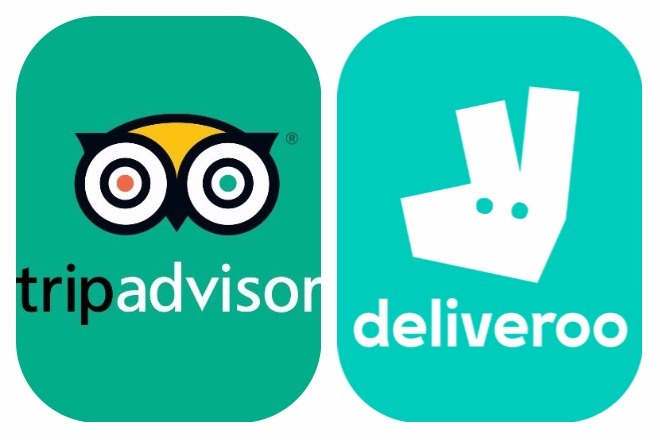 TripAdvisor και Deliveroo φέρνουν το φαγητό στην πόρτα σας!